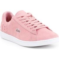 Topánky Ženy Nízke tenisky Lacoste Carnaby EVO 318 4 7-36SPW001213C pink
