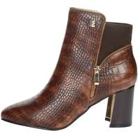 Topánky Ženy Čižmičky Laura Biagiotti 6580 Brown leather
