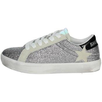 Topánky Dievčatá Nízke tenisky Shop Art SA0400 Silver