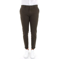 Oblečenie Muži Nohavice Chinos a Carrot Re-hash P249-2076 Green