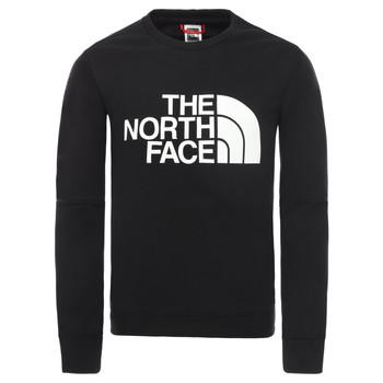 Oblečenie Chlapci Mikiny The North Face DREW PEAK LIGHT CREW Čierna