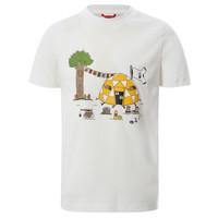 Oblečenie Chlapci Tričká s krátkym rukávom The North Face GRAPHIC TEE Biela