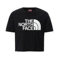 Oblečenie Dievčatá Tričká s krátkym rukávom The North Face EASY CROPPED TEE Čierna