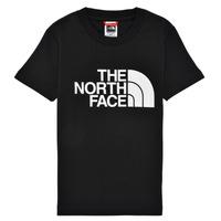 Oblečenie Chlapci Tričká s krátkym rukávom The North Face EASY TEE Čierna