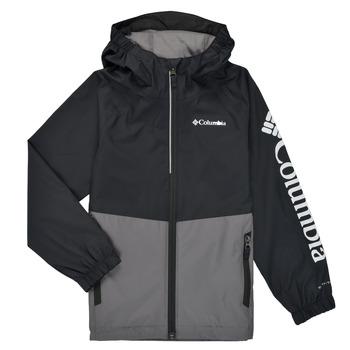 Oblečenie Chlapci Bundy  Columbia DALBY SPRINGS JACKET Čierna / Šedá