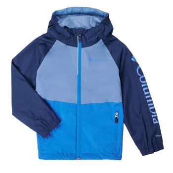 Oblečenie Chlapci Bundy  Columbia DALBY SPRINGS JACKET Modrá