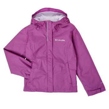 Oblečenie Dievčatá Bundy  Columbia ARCADIA JACKET Fialová