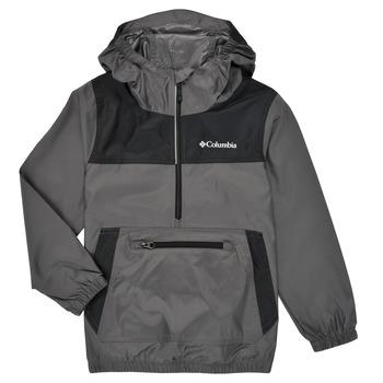 Oblečenie Deti Vetrovky a bundy Windstopper Columbia BLOOMINGPORT WINDBREAKER Biela / Čierna