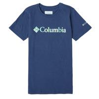 Oblečenie Dievčatá Tričká s krátkym rukávom Columbia SWEET PINES GRAPHIC Námornícka modrá