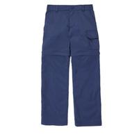 Oblečenie Dievčatá Nohavice päťvreckové Columbia SILVER RIDGE IV CONVTIBLE PANT Námornícka modrá