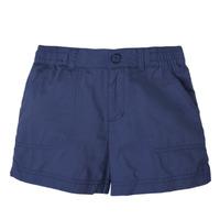 Oblečenie Dievčatá Šortky a bermudy Columbia SILVER RIDGE SHORT Námornícka modrá