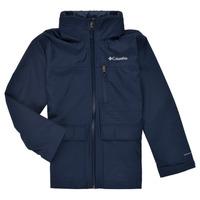 Oblečenie Chlapci Parky Columbia VEDDER PARK JACKET Námornícka modrá