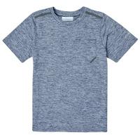 Oblečenie Chlapci Tričká s krátkym rukávom Columbia TECH TREK Námornícka modrá