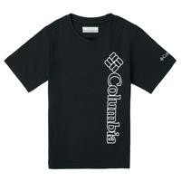 Oblečenie Chlapci Tričká s krátkym rukávom Columbia HAPPY HILLS GRAPHIC Čierna