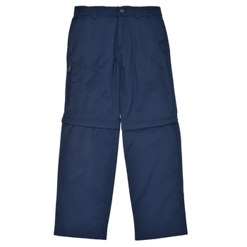 Oblečenie Chlapci Nohavice päťvreckové Columbia SILVER RIDGE IV CONVERTIBLE PANT Námornícka modrá