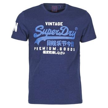 Oblečenie Muži Tričká s krátkym rukávom Superdry VL NS TEE Modrá