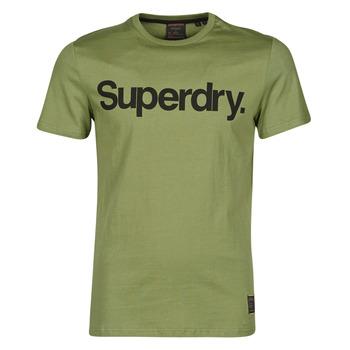 Oblečenie Muži Tričká s krátkym rukávom Superdry MILITARY GRAPHIC TEE 185 Kaki