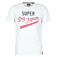 Oblečenie Muži Tričká s krátkym rukávom Superdry COLLEGIATE GRAPHIC TEE 185 Šedá
