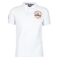 Oblečenie Muži Tričká s krátkym rukávom Superdry CLASSIC SUPERSTATE S/S POLO Šedá