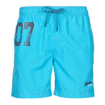 Oblečenie Muži Plavky  Superdry WATERPOLO SWIM SHORT Modrá