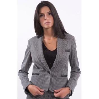 Oblečenie Ženy Saká a blejzre Fracomina F120W07030W060F6 Bezfarebný