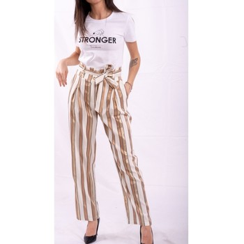 Oblečenie Ženy Padavé nohavice Fracomina FR20SP665 Bezfarebný