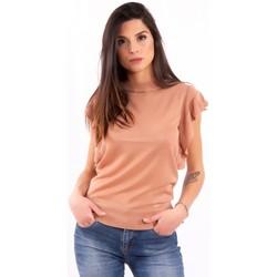 Oblečenie Ženy Tričká s krátkym rukávom Fracomina FR20SM806 Bezfarebný