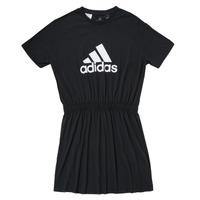Oblečenie Dievčatá Krátke šaty adidas Performance G DANCE DRESS Čierna