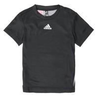 Oblečenie Chlapci Tričká s krátkym rukávom adidas Performance B A.R. TEE Čierna