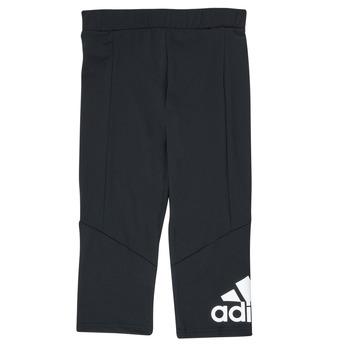 Oblečenie Dievčatá Legíny adidas Performance G BL 34 TIG Čierna