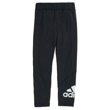 Oblečenie Dievčatá Legíny adidas Performance G BL TIG Čierna