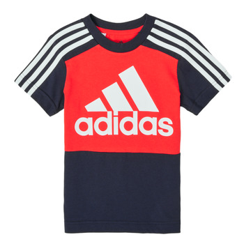 Oblečenie Chlapci Tričká s krátkym rukávom adidas Performance B CB T Červená / Námornícka modrá