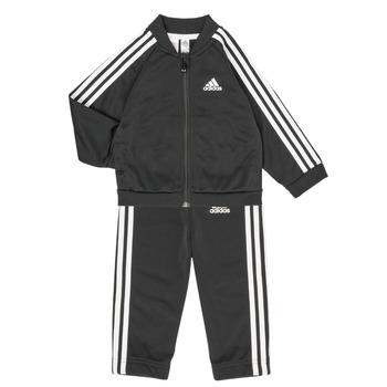 Oblečenie Deti Komplety a súpravy adidas Performance 3S TS TRIC Čierna