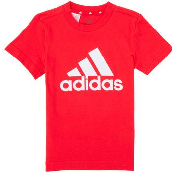 Oblečenie Chlapci Tričká s krátkym rukávom adidas Performance B BL T Červená