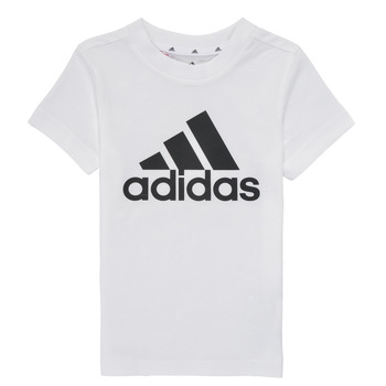 Oblečenie Chlapci Tričká s krátkym rukávom adidas Performance B BL T Biela
