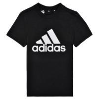 Oblečenie Chlapci Tričká s krátkym rukávom adidas Performance B BL T Čierna