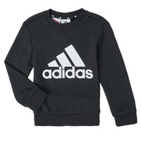 Oblečenie Chlapci Mikiny adidas Performance B BL SWT Čierna