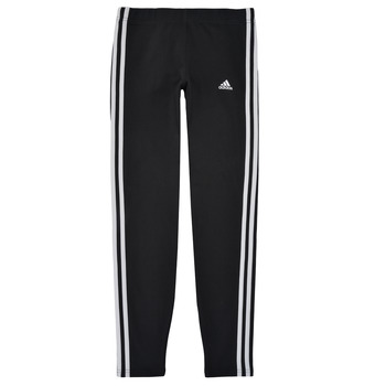Oblečenie Dievčatá Legíny adidas Performance G 3S LEG Čierna