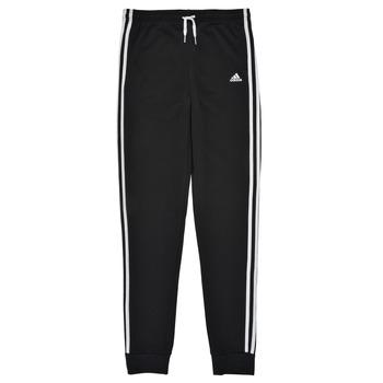 Oblečenie Dievčatá Tepláky a vrchné oblečenie adidas Performance G 3S FT C PT Čierna