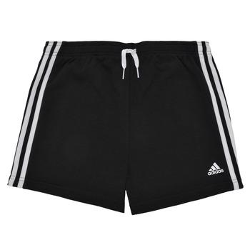 Oblečenie Dievčatá Šortky a bermudy adidas Performance G 3S SHO Čierna