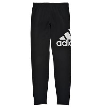 Oblečenie Dievčatá Legíny adidas Performance G BL LEG Čierna