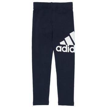 Oblečenie Dievčatá Legíny adidas Performance G BL LEG Námornícka modrá