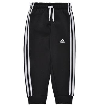 Oblečenie Chlapci Tepláky a vrchné oblečenie adidas Performance B 3S FL C PT Čierna