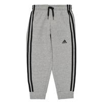 Oblečenie Chlapci Tepláky a vrchné oblečenie adidas Performance B 3S FL C PT Šedá