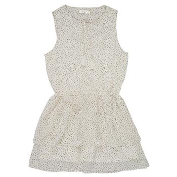 Oblečenie Dievčatá Krátke šaty Deeluxe JESTA Biela