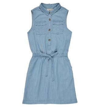 Oblečenie Dievčatá Krátke šaty Deeluxe LALI Modrá