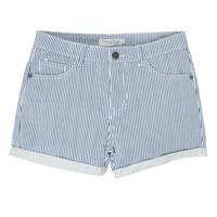 Oblečenie Dievčatá Šortky a bermudy Deeluxe BILLIE Biela / Modrá