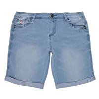 Oblečenie Chlapci Šortky a bermudy Deeluxe BART Modrá