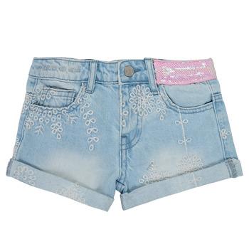 Oblečenie Dievčatá Šortky a bermudy Desigual 21SGDD05-5010 Modrá