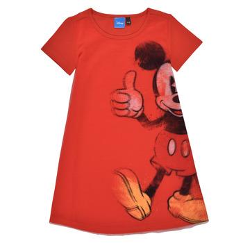 Oblečenie Dievčatá Krátke šaty Desigual 21SGVK41-3036 Červená